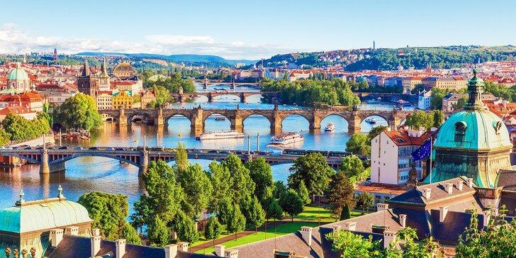 Letní pohoda v Praze: 4* hotel se snídaní a volný vstup do bazénu i sauny