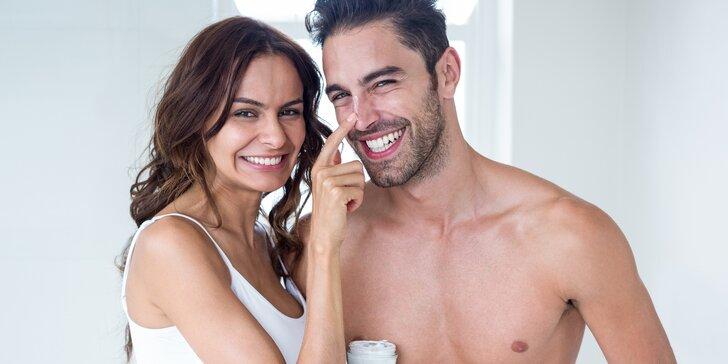 Dámské i pánské hodinové kosmetické ošetření pro zářivou a čistou pleť