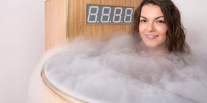 Pořádné ochlazení: vyzkoušejte léčbu chladem v kryosauně
