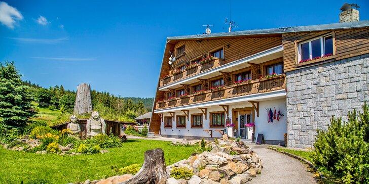 Wellness v Beskydech: hotel s polopenzí, bazénem, saunou a pivními lázněmi