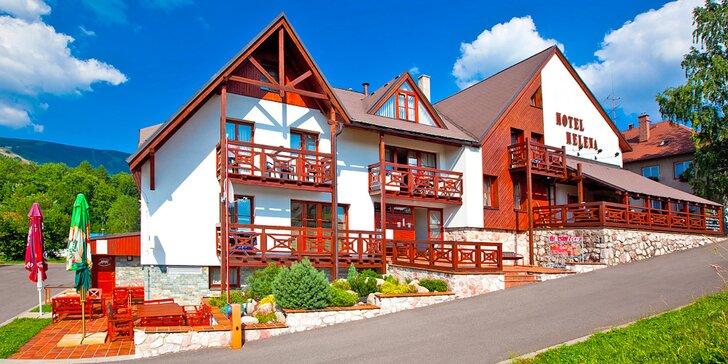 3–5denní rodinná dovolená v Krkonoších: polopenze, sauna i horská kola