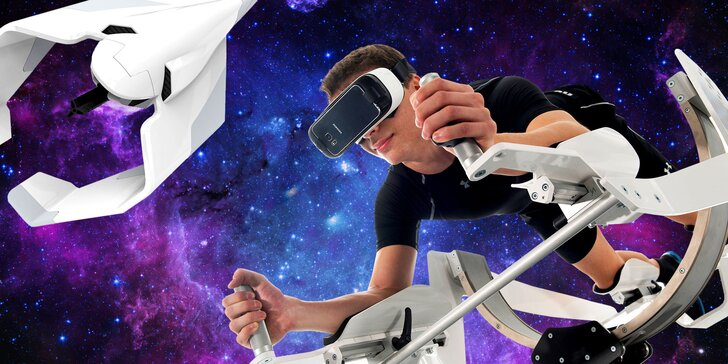 Propadněte létání nebo potápění ve virtuální realitě na ICAROSU