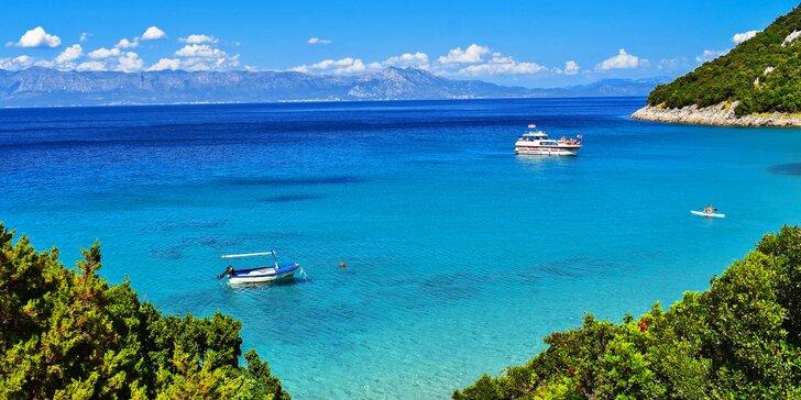 Chorvatský ostrov Vir: 7 nocí, studia a apartmány s bazénem, 80 m od pláže