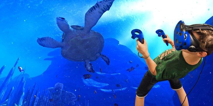 Zábava pro malé i velké: Hodina ve virtuální realitě s instruktáží
