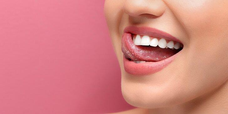 Ať váš úsměv opět září: Dentální hygiena vč. konzultace a lehkého bělení zubů