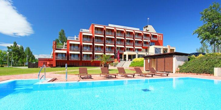 Podzim u Balatonu: baby friendly hotel s neomezeným wellness