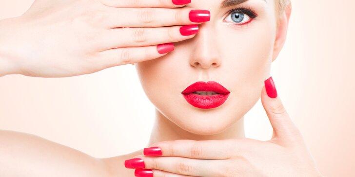 Pro dlouho krásné nehty: gelová modeláž nehtů na rukou s manikúrou