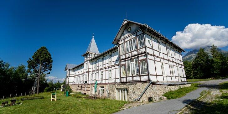 Hotel Palace Tivoli: Krásné výhledy na Tatry, sauna a bydlení v památce