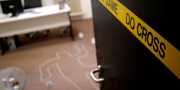 Detektivní hra Vražda v kanceláři: 60 minut hry pro až 5 lidí