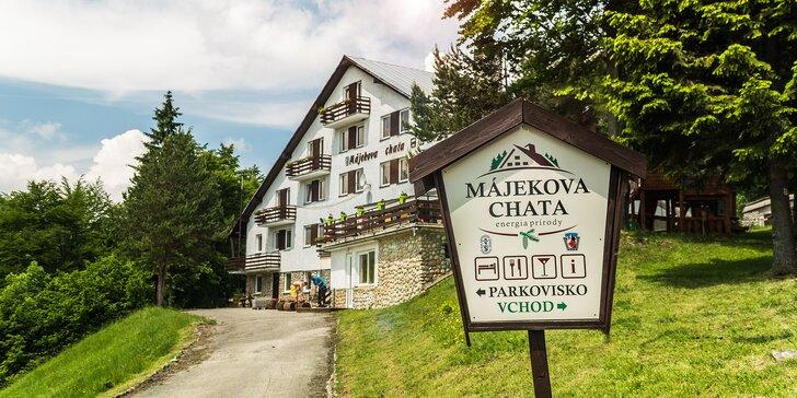 Objevte Malinô Brdo: Až 6 dní odpočinku se snídaní v přírodě či na kole