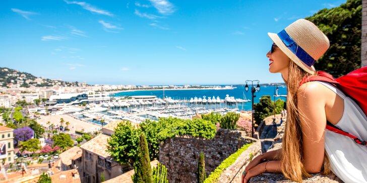 Putování po Azurovém pobřeží a Provence na 3 noci s možností koupání