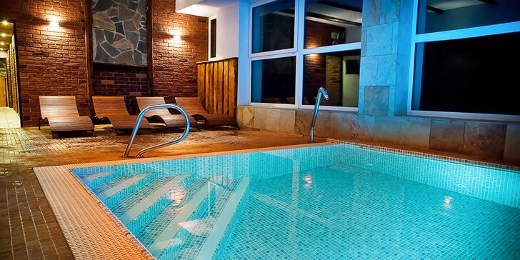 Odpočinkový 3–4denní pobyt v Jeseníkách: wellness, slaný bazén a polopenze