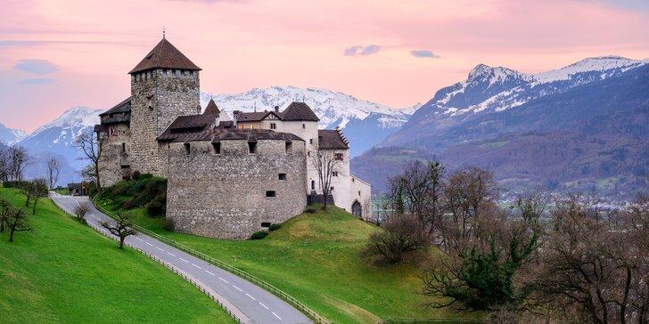 Víkendový výlet: poznejte busem krásy Lichtenštejnska, Rakouska a Německa
