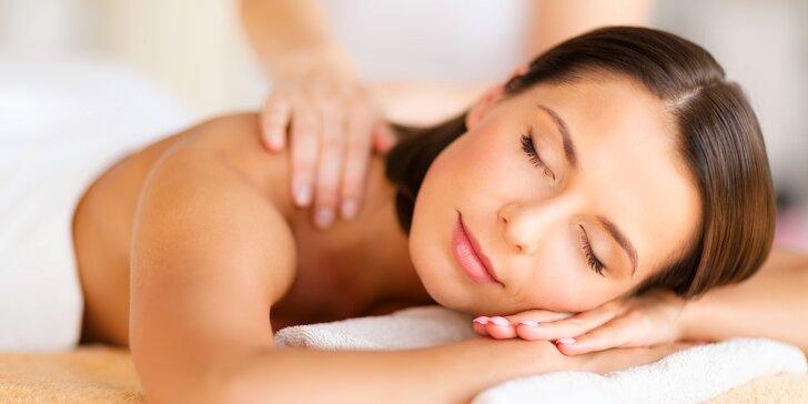 Hodinový relax jen pro vás: uvolňující sportovní nebo relaxační masáž