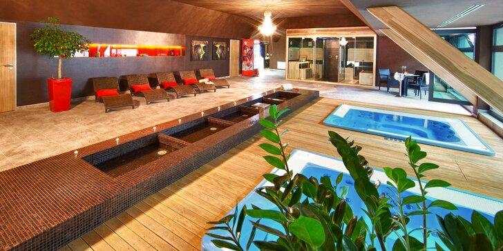 Relax ve dvou v Trnavě: wellness, polopenze a vstup do Relax Aqua & Spa