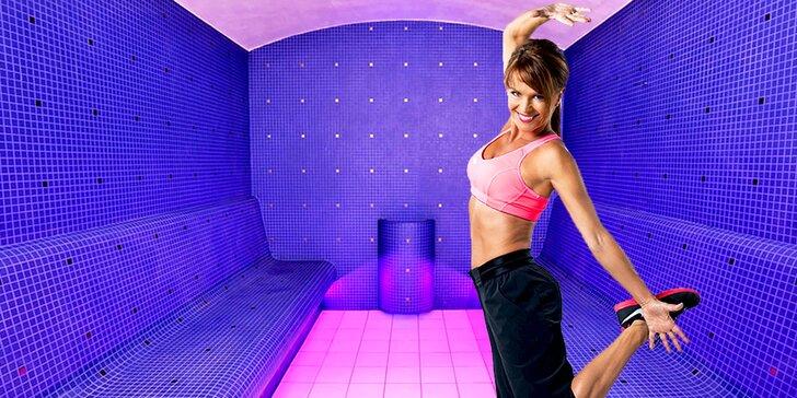 Permanentka na 20 vstupů do saunového světa v Daily Fitness Zličín