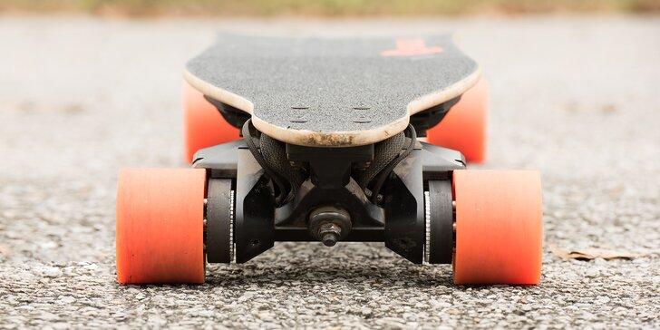 Zapůjčení elektro longboardu Boardmobile Guru 1 s max. rychlostí 40 km/h