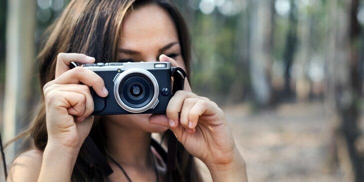 Fotokurz pro začátečníky i pokročilé: Fotografování s digitálním fotoaparátem