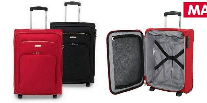 30 Kč za slevový kupón na cestovní kufr Samsonite v hodnotě 500 Kč. Neřešte s čím pojedete, řešte kam. Bezstarostné cestování s 29% slevou.