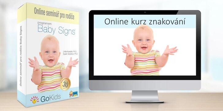 Online kurz znakování pro rodiče