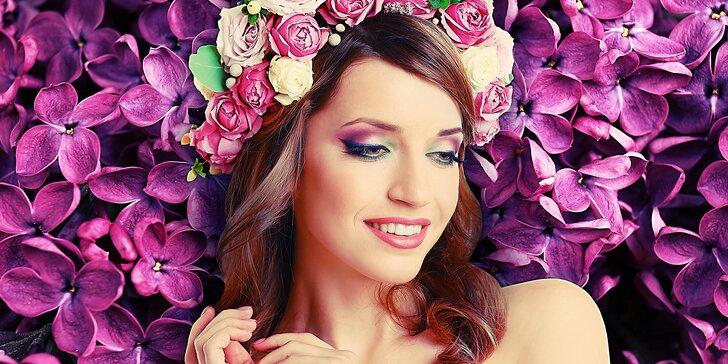 Kompletní kosmetické ošetření obličeje, krku a dekoltu
