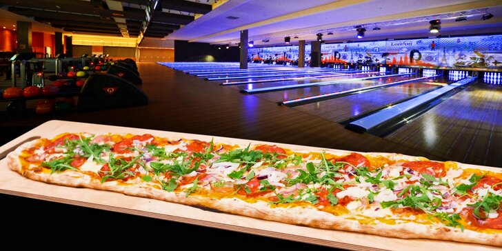 Největší pizza v Olomouci a bowling v nejmodernějším centru Moravy