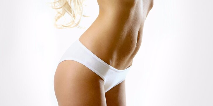 Depilace podpaží nebo intimních partií cukrovou pastou
