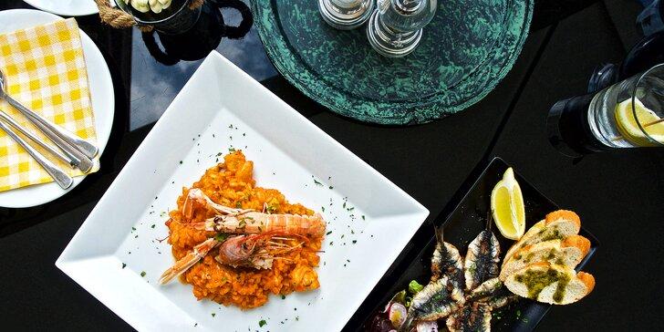 Menu od italských kuchařů: risotto s mořskými plody i vlastní zmrzlina