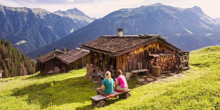 Letní dovolená v Alpách pro milovníky turistiky a kol: 4–8 dní s polopenzí