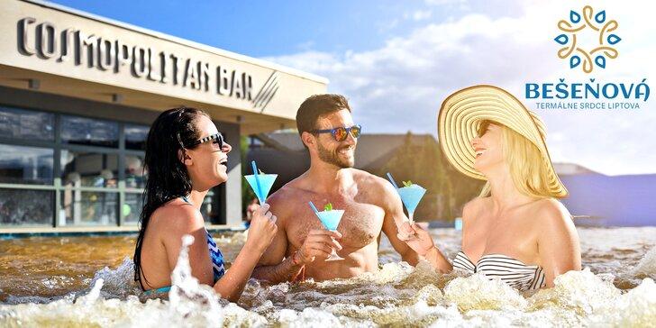 Celý den v termálním aquaparku Bešeňová: Možnost využít i v Tatralandii