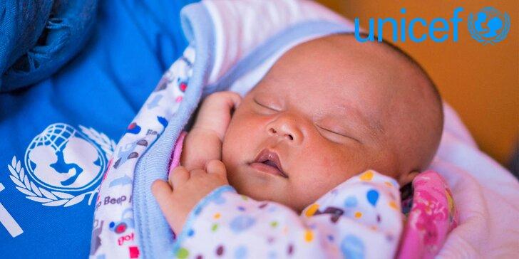 Staňte se hrdinou a zachraňte život dítěti s Jitkou Čvančarovou a UNICEF