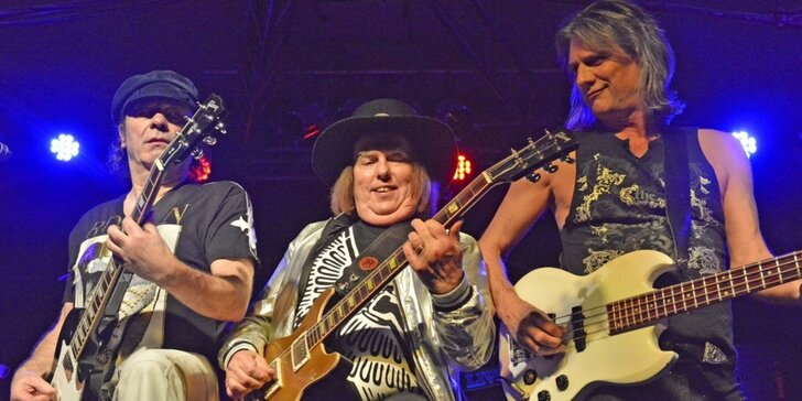 Vstupenky na říjnový koncert skupiny Slade v brněnském Sono centru