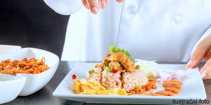 Seznamte se s thajskou kuchyní - příprava 4chodového menu v Café Buddha