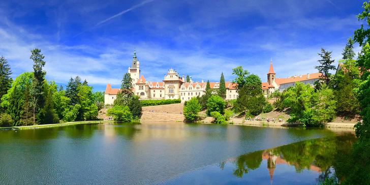3 letní dny v Průhonicích u Prahy - na dosah památek a přitom v klidu
