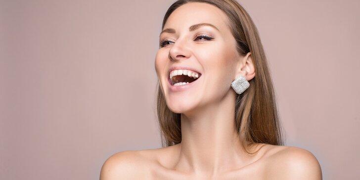 Exkluzivní kosmetické hýčkání včetně čištění, masáže a biostimulačního laseru