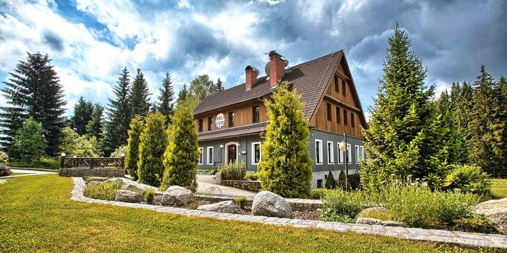 Podzimní pobyt v Jizerských horách: 3–8 dní s polopenzí v krásné lokalitě