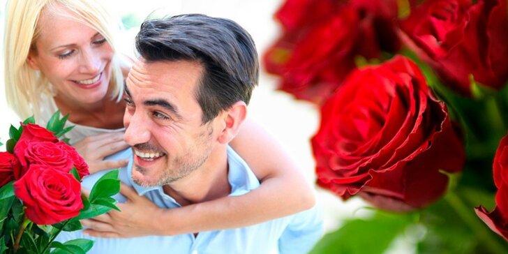 Překvapení, které vykouzlí úsměv na rtech: růže v délce až 70 cm