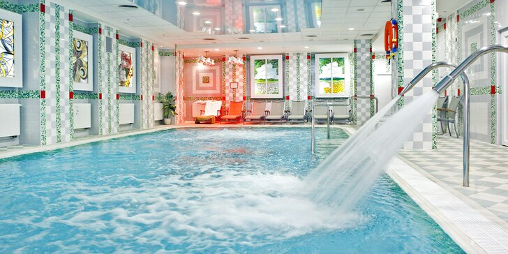 Luxusní 4* hotel v Mariánských Lázních: wellness či beauty pobyt s polopenzí
