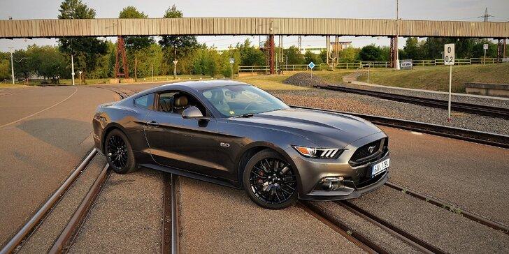 Rozjeď to v nejsilnějším modelu Ford Mustang 2017 až na 24 h