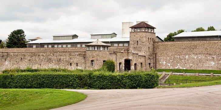 Exkurze do koncentračního tábora Mauthausen a města Linec s dopravou