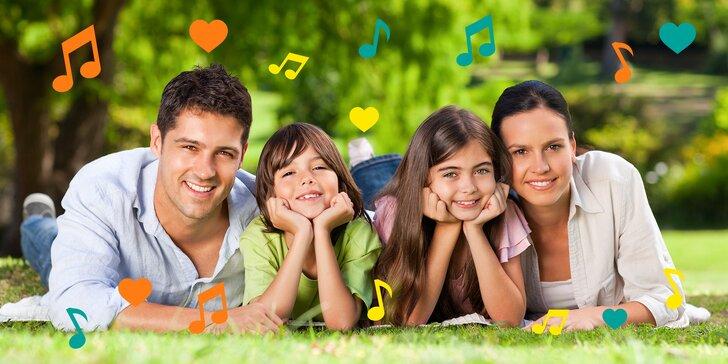 2denní vstupenka na rodinný festival: hudba, zábava, super dárek dle výběru