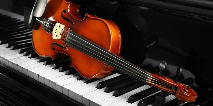 Mozart, Beethoven a Vivaldi ve Smetanově síni Obecního domu!