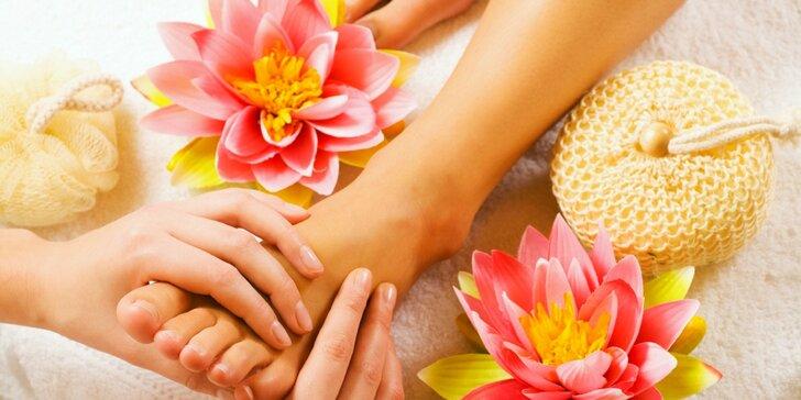 Úleva pro unavené nožky: 40minutová masáž chodidel