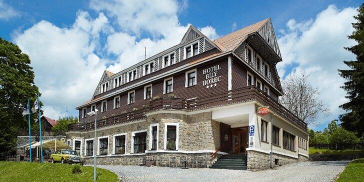 Za výlety do Harrachova: letní pobyt s polopenzí v hotelu s relax centrem