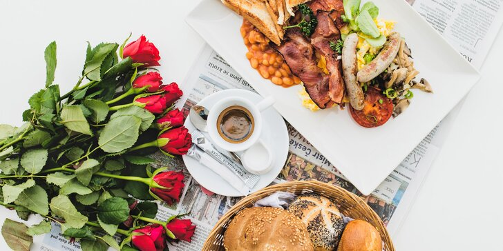 Krásné ráno u náplavky: snídaňové menu podle vašeho gusta pro 1 či 2 osoby
