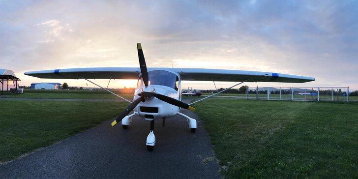 Pilotem na zkoušku: 20 nebo 30 minut seznamovacího letu nad hrady a zámky