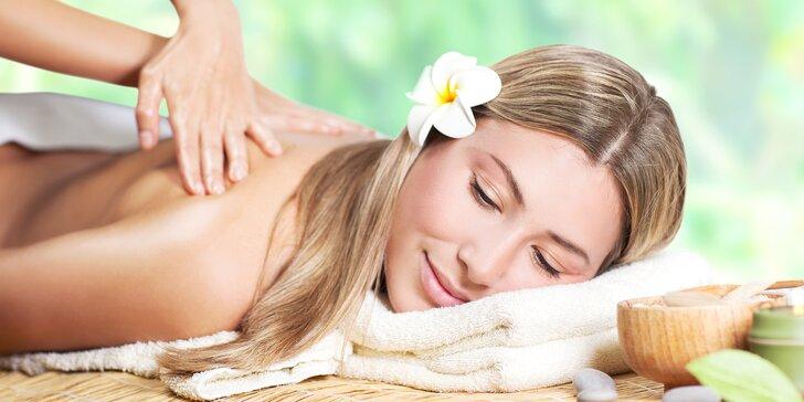 90, 100 či 110 minut relaxu: osvěžující masáž a třeba i maska nebo lázeň