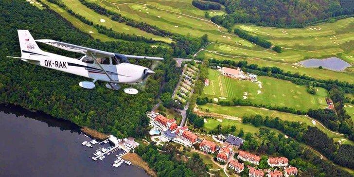 Vzhůru do oblak: vyhlídkový let letadlem Bristell nebo Cessna 172