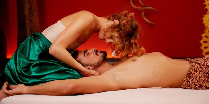 Kurz tantrické masáže pro jednotlivce i páry, které k sobě chtějí mít blíž
