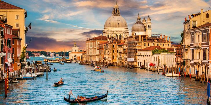 Romantické Benátky a Shakespearovská Verona: nocleh, snídaně, průvodce